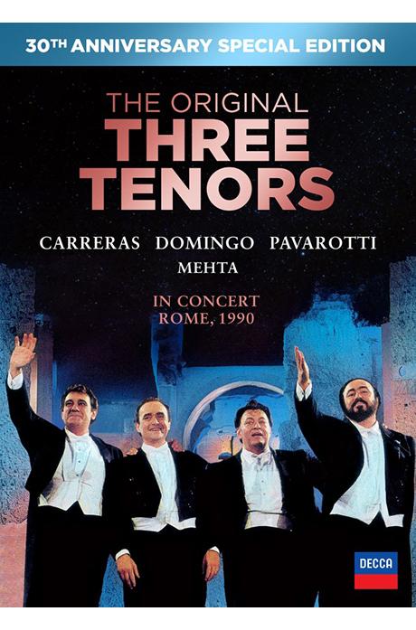 THE ORIGINAL THREE TENORS IN CONCERT ROME 1990 [DVD+CD] [쓰리 테너 로마월드컵공연 30주년 기념]