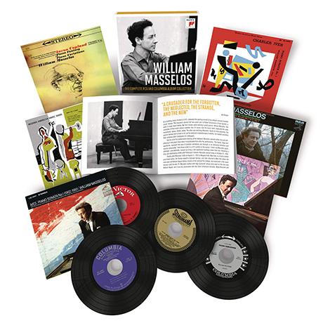 THE COMPLETE RCA AND COLUMBIA ALBUM COLLECTION [윌리엄 마셀로스: RCA & 콜럼비아 전집] [한정반]