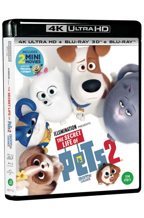 [최강화질핫세일] 마이펫의 이중생활 2 [4KUHD+3D+2D] [THE SECRET LIFE OF PETS 2]