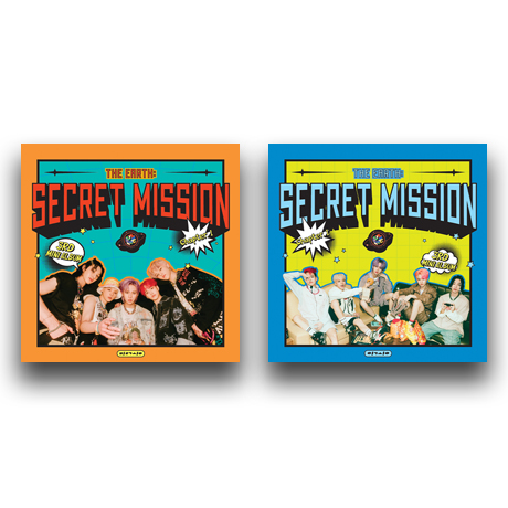 THE EARTH: SECRET MISSION CHAPTER.1 [미니 3집] [2종 세트]