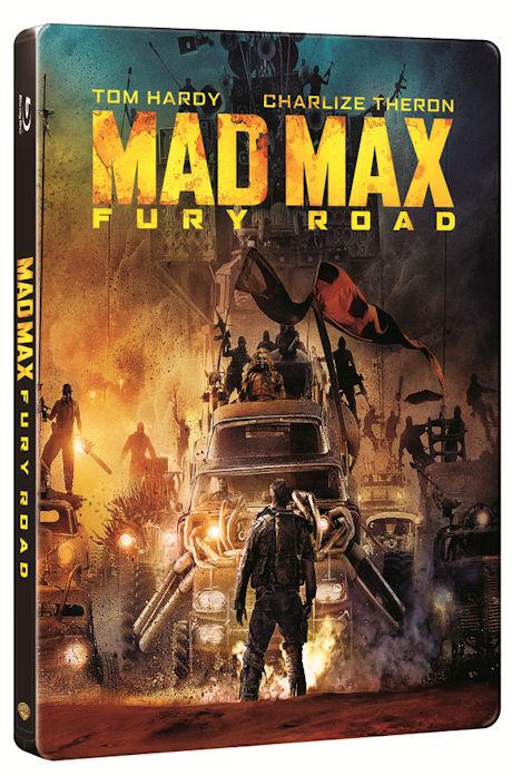 매드맥스: 분노의 도로 [3D+2D] [스틸북 한정판] [MAD MAX: FURY ROAD]