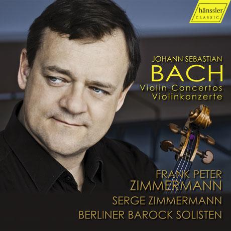 VIOLIN CONCERTOS/ FRANK PETER ZIMMERMANN, SERGE ZIMMERMANN [바흐: 바이올린 협주곡 - 프랑크 페터 & 세르게 침머만]