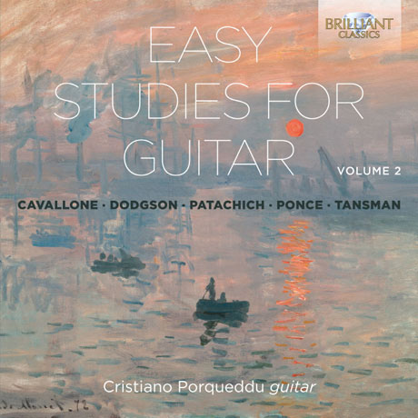 EASY STUDIES FOR GUITAR VOL.2 [크리스티아노 포르퀘두: 기타를 위한 쉬운 연습곡 2집]