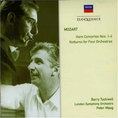 HORN CONCERTOS NOS.1-4/ BARRY TUCKWELL, PETER MAAG