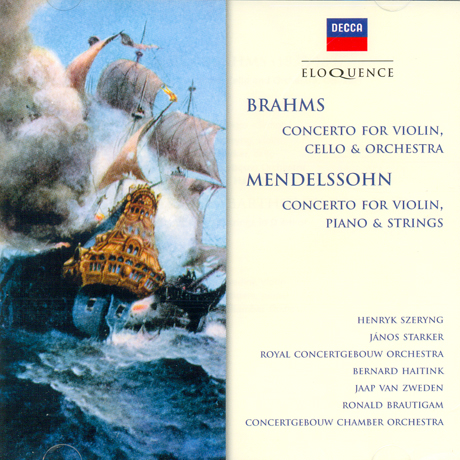 CONCERTO FOR VIOLIN CELLO & ORCHESTRA/ HENRYK SZERYNG, BERNARD HAITINK