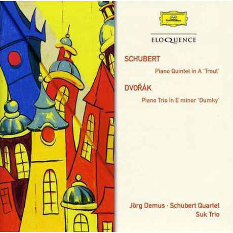 PIANO QUINTET IN A `TROUT`/ JORG DEMUS, SCHUBERT QUARTET