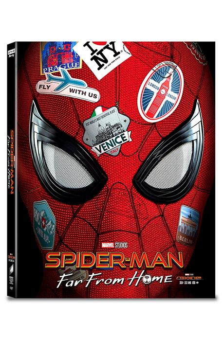 스파이더맨: 파 프롬 홈 4K UHD+3D+2D+보너스 디스크 [A1 스틸북 한정판] [SPIDER-MAN: FAR FROM HOME]