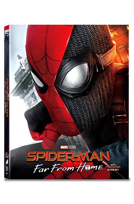 스파이더맨: 파 프롬 홈 4K UHD+BD+보너스 디스크 [A2 스틸북 한정판] [SPIDER-MAN: FAR FROM HOME]