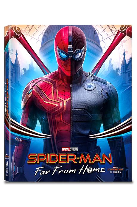 스파이더맨: 파 프롬 홈 3D+2D+보너스 디스크 [A3 스틸북 한정판] [SPIDER-MAN: FAR FROM HOME]