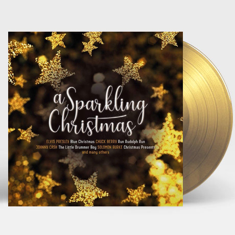 A SPARKLING CHRISTMAS [GOLD & CLEAR MIXED] [180G LP]