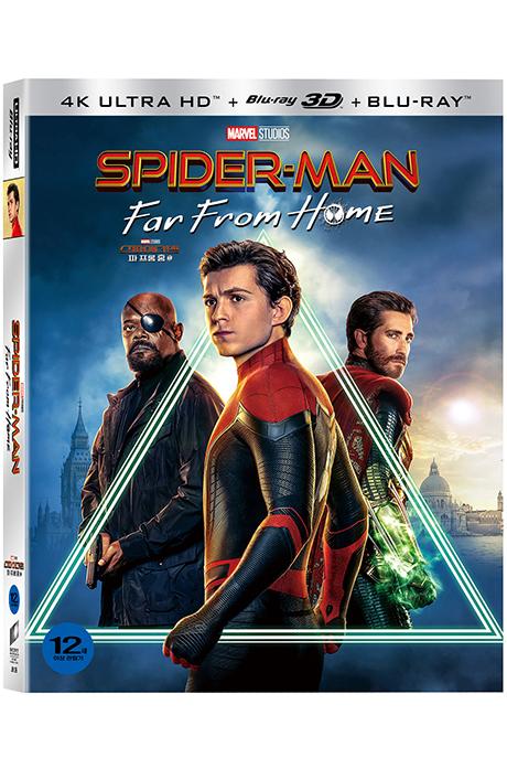 스파이더맨: 파 프롬 홈 4K UHD+3D+2D+보너스 디스크 [슬립케이스 한정판] [SPIDER-MAN: FAR FROM HOME]