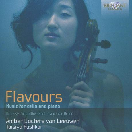 MUSIC FOR CELLO AND PIANO/ AMBER DOCTERS VAN LEEUWEN, TAISIYA PUSHKAR