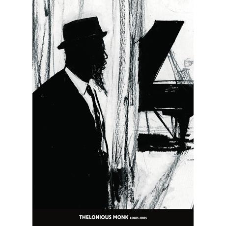 델로니어스 몽크 & 루이 조스 [50*70] [포스터+지관통]