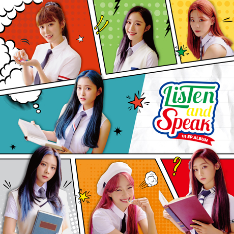 LISTEN AND SPEAK [1ST EP ALBUM]