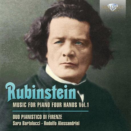 MUSIC FOR PIANO FOUR HANDS VOL.1/ DUO PIANISTICO DI FIRENZE [루빈슈타인: 포핸드 피아노 작품 전집]