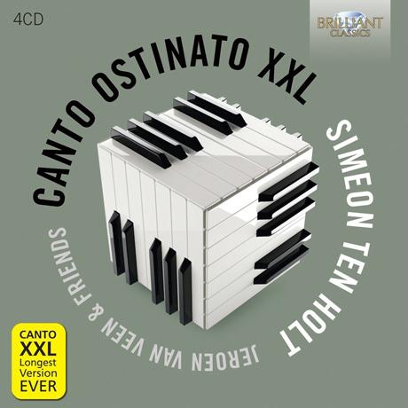 CANTO OSTINATO XXL: FOR FOUR PIANOS & ORGAN/ SANDRA & JEROEN VAN VEEN [홀트: 칸토 오스티나토]