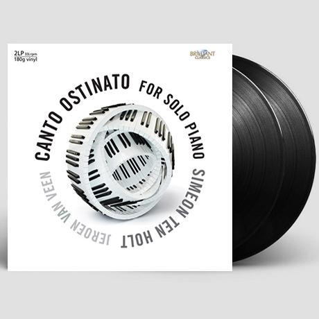 CANTO OSTINATO: FOR SOLO PIANO/ JEROEN VAN VEEN [180G LP] [홀트: 칸토 오스티나토 - 피아노버전]