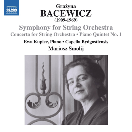 SYMPHONY FOR STRING ORCHESTRA/ MARIUSZ SMOLIJ [바체비츠: 현을 위한 교향곡 외]