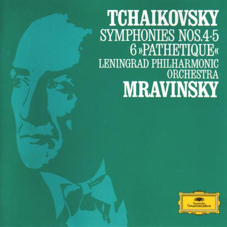 SYMPHONY NOS.4, 5, 6/ EVGENY MRAVINSKY [차이코프스키: 교향곡 4, 5, 6번 <비창>| 므라빈스키] [이 한장의 역사적 명반 36]