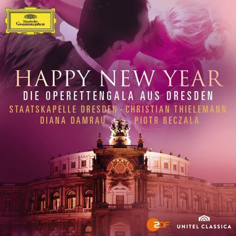 HAPPY NEW YEAR: DIE OPERETTENGALA AUS DRESDEN/ CHRISTIAN THIELEMANN [CD+DVD] [2012년 드레스덴 재야음악회 실황]