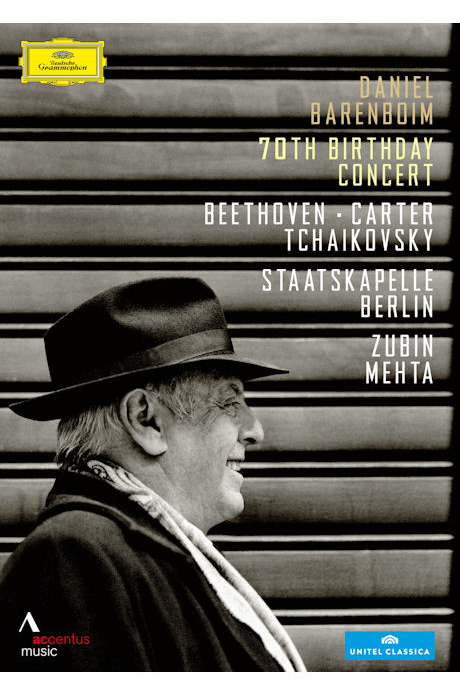 70TH BIRTHDAY CONCERT: BEETHOVEN, CARTER, TCHAIKOVSKY/ ZUBIN MEHTA [바렌보임 70세 기념 콘서트]