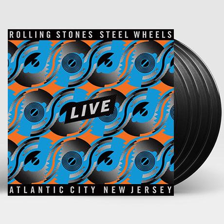 STEEL WHEELS: LIVE ATLANTIC CITY NEW JERSEY [180G LP]