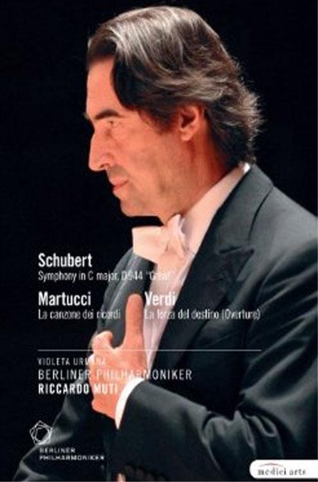 SCHUBERT, MARTUCCI, VERDI/ RICCARDO MUTI [베를린 필의 2009년 유러피언 콘서트]
