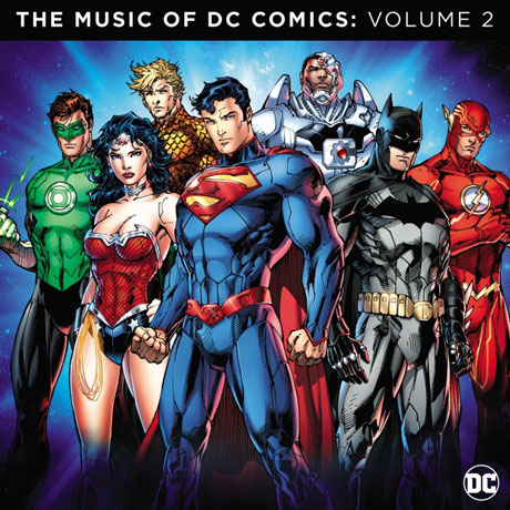 THE MUSIC OF DC COMICS VOLUME 2 [DC 코믹스 컴필레이션 2집]