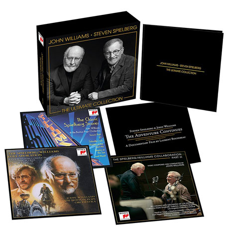 JOHN WILLIAMS & STEVEN SPIELBERG: THE ULTIMATE COLLECTION [3CD+DVD] [존 윌리엄스 & 스티븐 스필버그 박스세트]