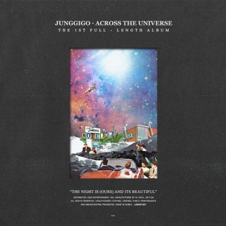 ACROSS THE UNIVERSE [정규 1집]