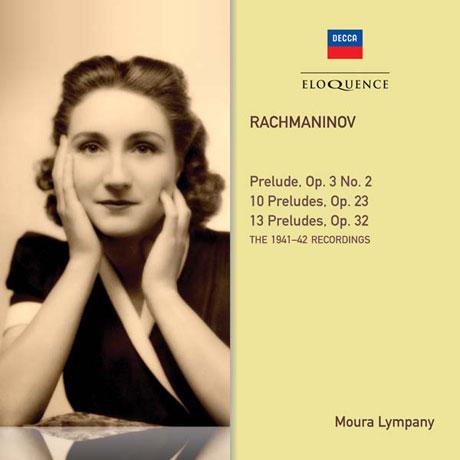 RACHMANINOV PRELUDES: 1941-42 RECORDINGS [모우라 림파니: 라흐마니노프 전주곡 전곡]