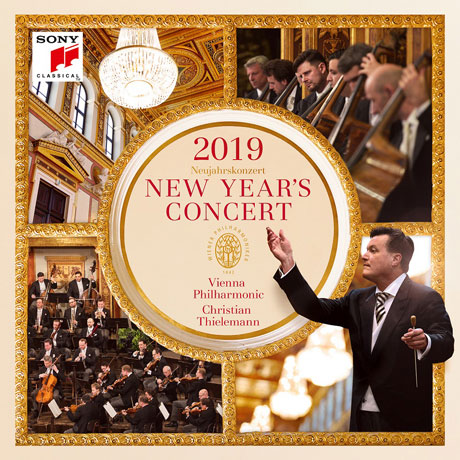 NEW YEAR`S CONCERT 2019/ CHRISTIAN THIELEMANN [2019 빈 필하모닉 신년음악회 - 크리스티안 틸레만]