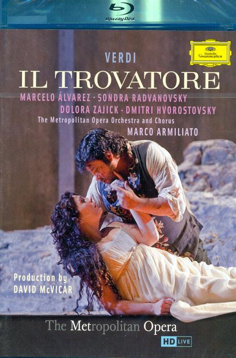 IL TROVATORE/ MARCO ARMILIATO [베르디: 일 트로바토레] [블루레이 전용플레이어 사용]