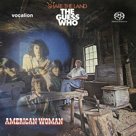 AMERICAN WOMAN & SHARE THE LAND [SACD HYBRID]