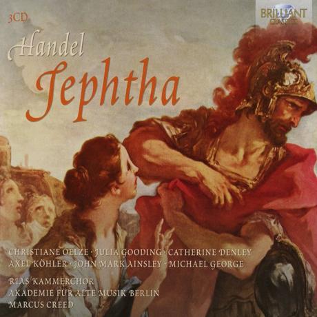 JEPHTHA/ MARCUS CREED [헨델: 예프타]