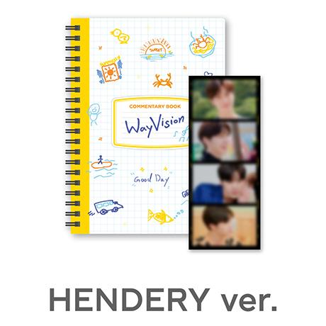 HENDERY_WAY VISION [코멘터리북+필름SET]