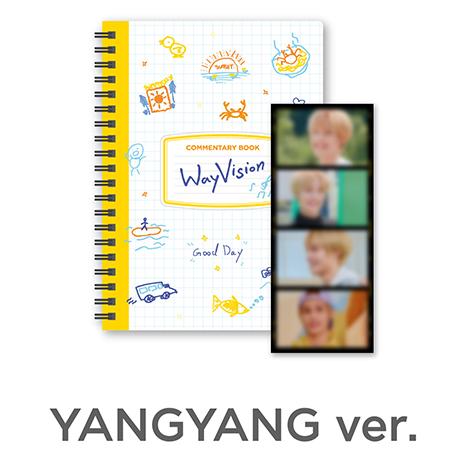 YANGYANG_WAY VISION [코멘터리북+필름SET]