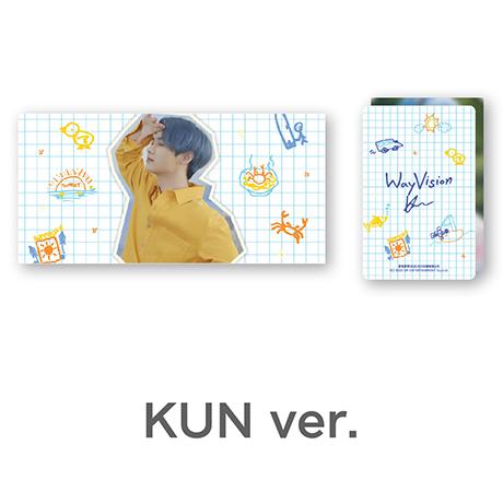KUN_WAY VISION [플립북+필름SET]
