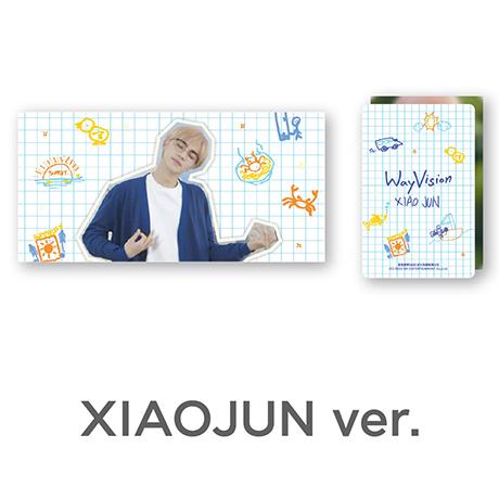 XIAOJUN_WAY VISION [플립북+필름SET]