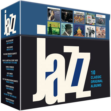 JAZZ: 10 CLASSIC ORIGINAL ALBUMS [BOX SET]