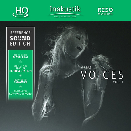 REFERENCE SOUND EDITION: GREAT VOICES VOL.3 [HQCD]