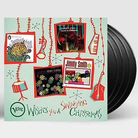 VERVE WISHES YOU A SWINGING CHRISTMAS [180G LP]