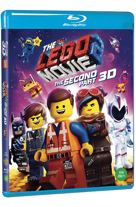 [3D블루레이 파격가] 레고 무비 2 [3D+2D] [THE LEGO MOVIE 2: THE SECOND PART]