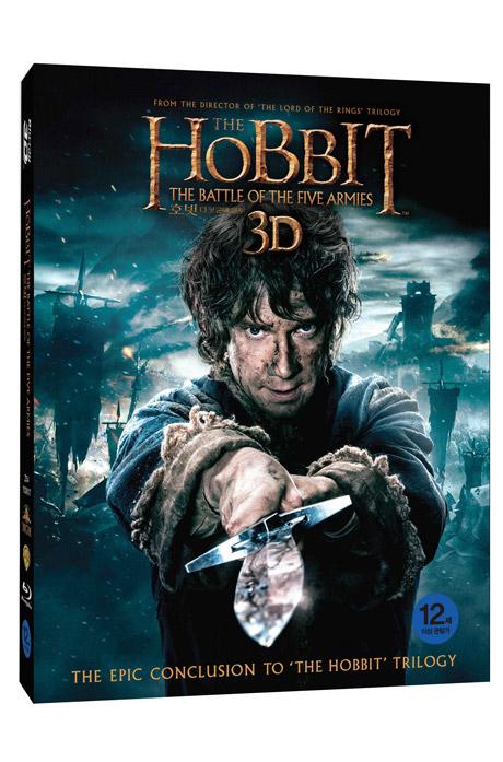 [3D블루레이 파격가] 호빗: 다섯군대 전투 3D+2D [오링케이스 한정판] [THE HOBBIT: THE BATTLE OF THE FIVE ARMIES]