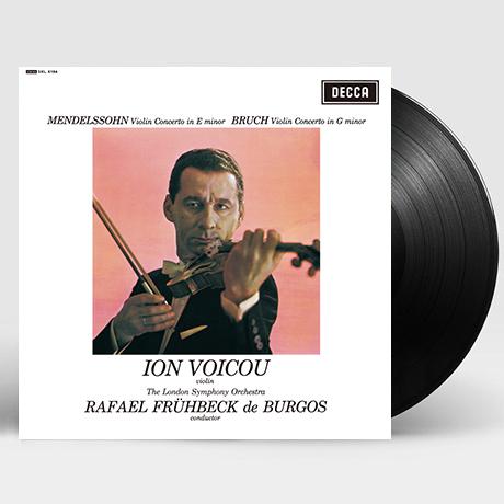 VIOLIN CONCERTOS/ ION VOICOU, RAFAEL FRUHBECK DE BURGOS [멘델스존 & 부르흐: 바이올린 협주곡 - 이온 보이쿠, 부르고스] [ANALOGPHONIC 180G LP]