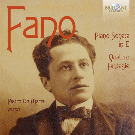 PIANO SONATA IN E, QUATTRO FANTASIE/ PIETRO DE MARIA [파노: 피아노 소나타]