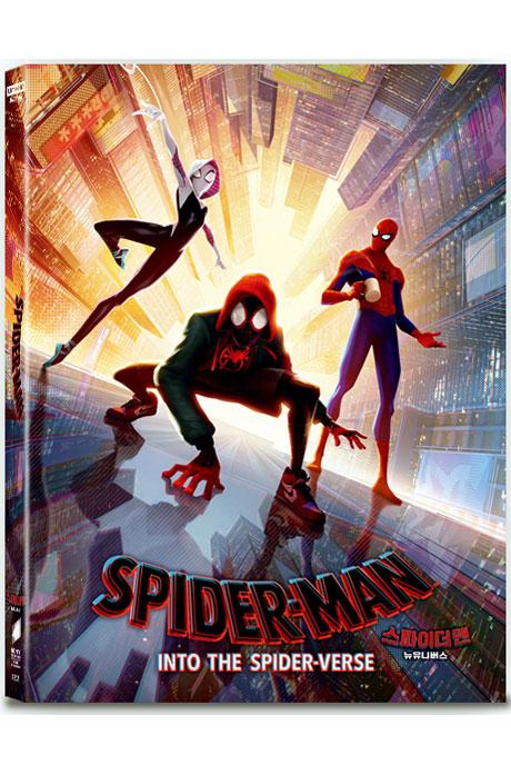 스파이더맨: 뉴 유니버스 4K UHD+BD [A 풀슬립 스틸북 한정판] [SPIDER-MAN: INTO THE SPIDER-VERSE]