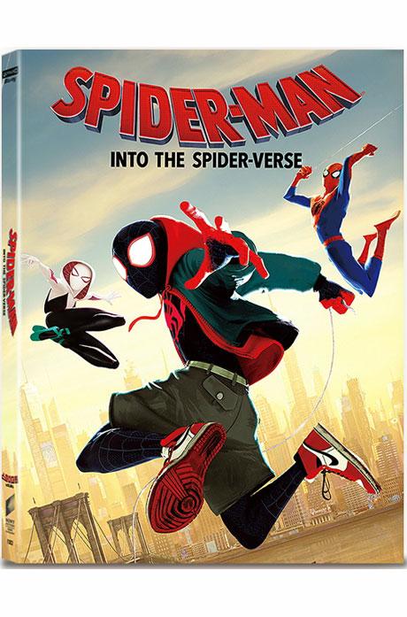 스파이더맨: 뉴 유니버스 4K UHD+BD [B 렌티큘러 오링 스틸북 한정판] [SPIDER-MAN: INTO THE SPIDER-VERSE]