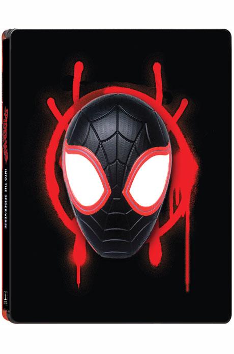 스파이더맨: 뉴 유니버스 3D+2D [마그넷 스틸북 한정판] [SPIDER-MAN: INTO THE SPIDER-VERSE]
