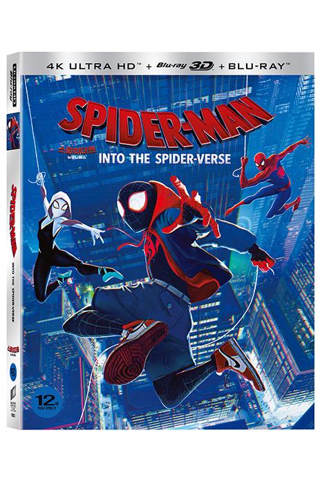 스파이더맨: 뉴 유니버스 4K UHD+3D+2D [슬립케이스 한정판] [SPIDER-MAN: INTO THE SPIDER-VERSE]
